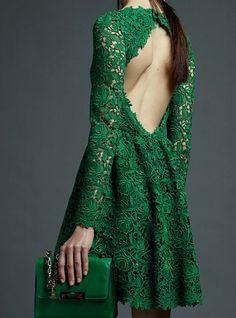 A Whole Lot Of Wonderful Green Lace!