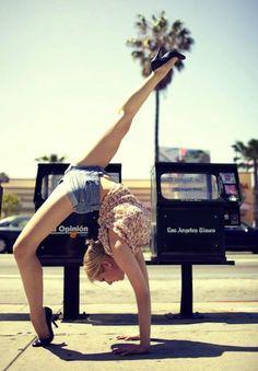 yoga in public