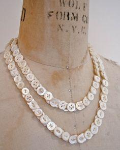 Cool DIY Ideas for Button Necklaces a great website http://www.sortrashion.com/cool-diy-ideas-button-necklaces/