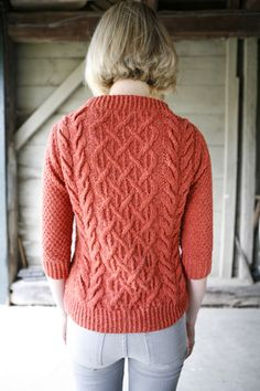 Beatnik boat-neck pullover: Knitty Deep Fall 2010