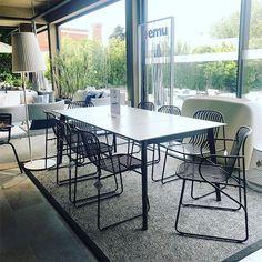 New Emu coleções disponíveis na Alaire #emu #alaire #outdoorliving #design #showroom #cascais #comporta Cascais, Emu, Showroom, Portugal, Dining Table, Instagram, Design, Outdoor, Furniture