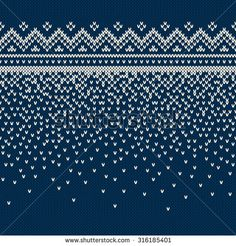 Seamless Knitting Pattern - Buy this vector g . Seamless Knitting Pattern – Buy vector clipart for Shutterstock and find more pictures. Baby Knitting Patterns, Knitting Charts, Knitting Designs, Knitting Stitches, Knitting Projects, Stitch Patterns, Christmas Knitting, Christmas Sweaters, Fair Isle Pattern