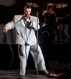 David Byrne and the Big Suit!