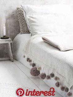 white bedroom, blanket, … Banyo – home accessories Cozy Bedroom, White Bedroom, Bedroom Decor, Bedroom Ceiling, Interior Design Trends, Diy Home Improvement, Dorm Room, Diy Home Decor, Furniture