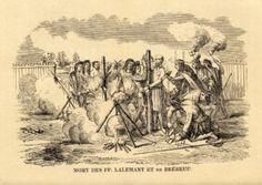 16 mars 1649 : Martyr de Jean de Brébeuf