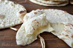 Ricetta Naan Bread, PANE INDIANO   Dolce e Salato di Miky