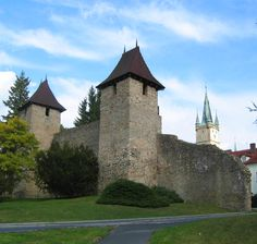 Tachov (West Bohemia), Czechia #town #castle #church #Czechia Central Europe, Czech Republic, Prague, All Over The World, Barcelona Cathedral, Manor Houses, Palaces, House Styles, Engineering
