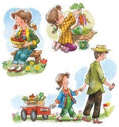 John Nez Illustration - Farmer's Market