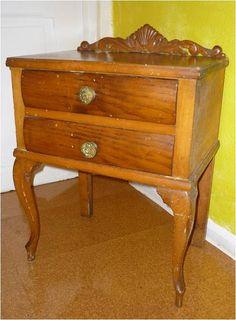 Nightstand, Furniture, Home Decor, Dark Wood Furniture, Old Furniture Painted, Restoring Old Furniture, Refurbished Furniture, Recycled Furniture, Bricolage