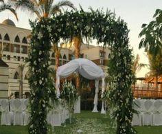 Kempinski The Dome Wedding Set Up, Turkey x Perfect Weddings Abroad, Wedding Abroad, Kempinski Hotel, Wedding Set Up, Garden Wedding, Traveling By Yourself, Gazebo, Wedding Venues, Outdoor Structures