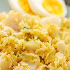 Kedgeree - A classic Scottish breakfast dish which which is nutritious and delicious! - www.fishisthedish.co.uk/recipes/kedgeree