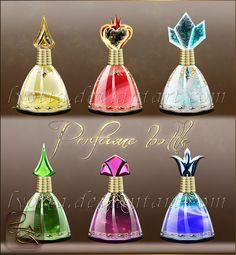 Perfume Bottle Lyotta 10 by Lyotta.deviantart.com on @DeviantArt