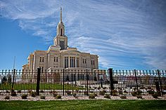Featured Art - Payson Temple I  by David Simpson