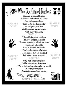 There are times when the two most important words that can be said are Thank and You.Take this opportunity to acknowledge that special teacher for making a difference in your child's life with this adorable unique one-of- a- kind handcrafted appreciation gift. Wall Keepsake Gift Idea For A Special Teacher INSTANT DIGITAL DOWNLOAD. Unlimited Prints.