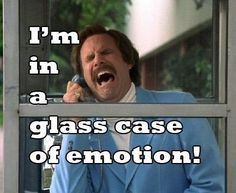 a glass case of emotion