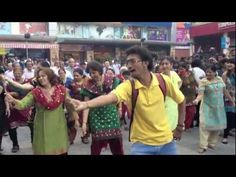 First Flash mob by senior citizens in India! LOVE!!!!!!!!!!