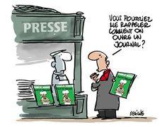 Le meilleur dessin du jour est signé @fdeligne (et pourtant la concurrence est rude...) #CharlieHebdo #presse