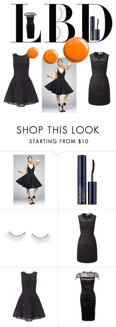 """Little Black Dress"" by alice-durica ❤ liked on Polyvore featuring Mac Duggal, Estée Lauder, tarte, Miss Selfridge, Nicole Coste and Topshop"