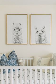 In honor of baby boy's due date (which was two days ago!) we're excited to s… In honor of baby boy's due date (which was two days ago!) we're excited to share Judah's llama + cactus theme nursery with you! That's right, Baby E has a f Baby Room Themes, Baby Room Diy, Baby Boy Rooms, Baby Boy Nurseries, Nursery Room, Girl Nursery, Nursery Decor, Nursery Ideas, Boho Nursery