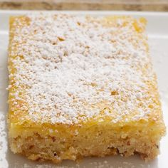 These Orange Bars start with a sweet almond shortbread crust and are then topped with a gooey orange filling. Don't think of these treats as the orange version of lemon bars, though. The flavor is a bit more subtle. The citrus flavor mixes well with the sweetness of the crustGet the Recipe