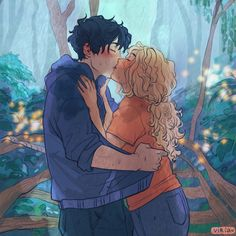 New Percabeth drawing by Viria Percy Jackson Annabeth Chase, Percy Jackson Fan Art, Percy Jackson Ships, Percy Jackson Quotes, Percy And Annabeth, Percy Jackson Books, Percy Jackson Fandom, Percabeth, Solangelo