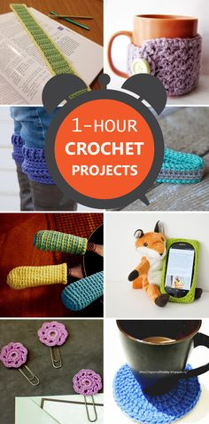 1-Hour Crochet Projects
