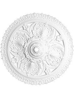 "Ceiling Medallions. Charlotte 24"" Ceiling Medallion With 1"" Center Hole  $68"