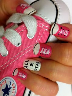 Converse fingernails