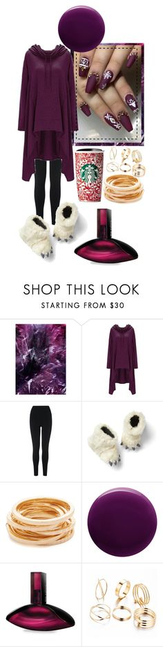 """Purple🍇"" by stream5 ❤ liked on Polyvore featuring ADAM, L.K.Bennett, Gap, Kenneth Jay Lane, Oribe and Calvin Klein"