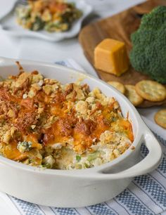 Southern Broccoli Casserole - like Laura's. At Thanksgiving. The recipe she refuses to share. This is definitely it - neighbor hates veggies and ate 4 helpings! Bwaaahahahaha!