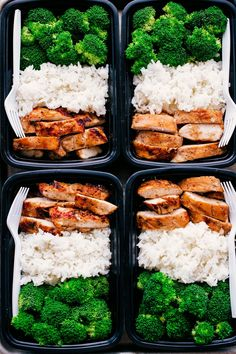 healthy food prep This Easy Teriyaki Chicken Meal Prep is a great way to guide yourself into a healthier lifestyle. Meal prepping is the prefect way to de-stress your life and plan ahead. Easy Healthy Meal Prep, Easy Healthy Recipes, Healthy Snacks, Healthy Eating, Easy Meal Prep Lunches, Food Meal Prep, Diet Snacks, Diet Prep Meals, Clean Eating Foods