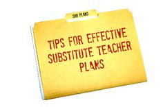 Tuesday Tips: Effective Sub Planning, Part One