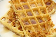 My favorite waffle recipe - they come out perfect! :)