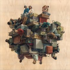 Four On A Chair Web | ART   Cinta Vidal | Pinterest | Surreal Art And  Illustrations