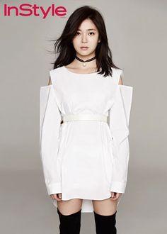 Baek Jin Hee for InStyle