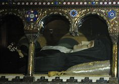 Incorrupt Body of St. Margaret Mary Alacoque  Visionary of the Sacred Heart