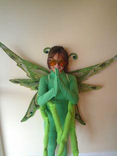 praying mantis costume made by me!