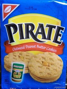 Pirate Peanut Butter Cookies by Kraft | LUUUX