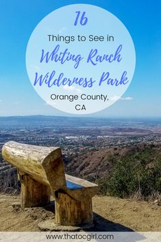 Whiting Ranch Wilderness Park is in Orange County, CA and has awesome views and excellent trails. Let these photos inspire you to get outdoors and explore! Yosemite California, California National Parks, California Vacation, Visit California, Southern California, Orange County Hikes, San Diego Hiking, Hikes In Los Angeles, Disneyland Vacation