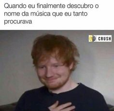 """a musica """"not another song about love"""" Funny Images, Funny Pictures, Mundo Musical, Sao Memes, Little Memes, Memes Status, Just Smile, Ed Sheeran, Wtf Funny"""
