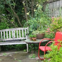 Garden accents- taken at Cultus Bay Nursery, Clinton, Washington
