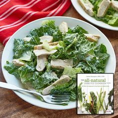 Jalapeño Caesar Salad With Blackened Chicken Breast: Move over, ordinary Caesar salad! Lean chicken breast gets a peppery punch and a quick sauté, and the traditional dressing gets a bit of heat and a protein boost from tofu. Get this #recipe kit delivered!
