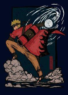 The unic art of Uzumaki Naruto.. #Uzumaki Naruto
