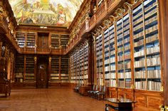 Strahov library, Pregue, Czech Republic