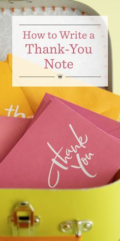 Learn How To Write A Thank You Note In  Easy Steps  How To