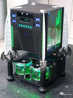 OS COMPUTADORES MAIS LEGAIS DO MUNDO -  gabinete-customizado-15