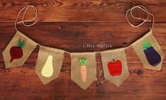 Farmer's Market Burlap Banner for photo sessions, by Little Maisie