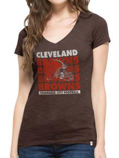 995d60a6e Cleveland Browns 47 Brand Women Brown