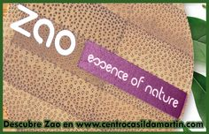Zao maquillaje ecologico profesional en Burgos. Descubre en tu tienda de centro Casilda Martin de Burgos