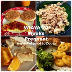 A day of healthy and yummy eats at 20 weeks pregnant!